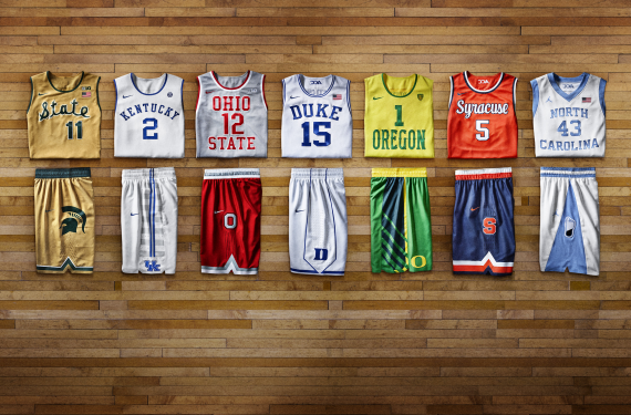 Nike Unveils Fauxback Uniforms for 7 Colleges