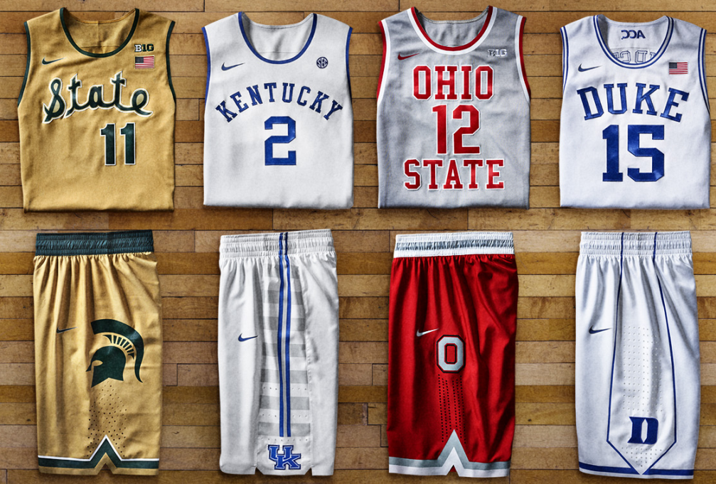 Nike Unveils Fauxback Uniforms For 7 Colleges Chris