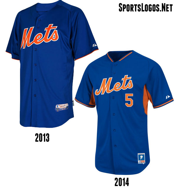 New York Mets BP Jersey 2013-2014