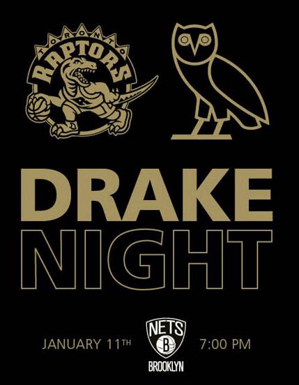 Raptors Drake Night 2014