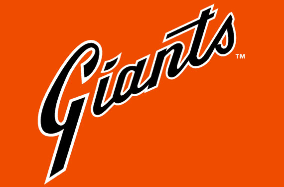 San Francisco Giants 1980 Orange Jersey Logo