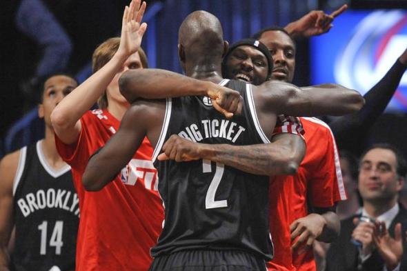 Kevin Garnett Big Ticket Brooklyn Nets Jersey 2014