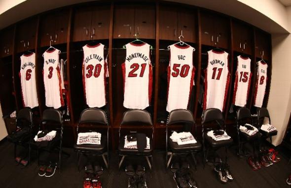 Miami Heat Nickname Jerseys 2013-2014
