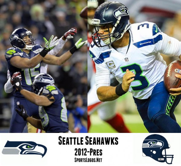 They may have brought back the grey to the logo but that was it as far as traditional moves in the Seahawks rebranding of 2012. Neon green pant stripes and number trim, patterns on the numbers, and a trip to Super Bowl XLVIII