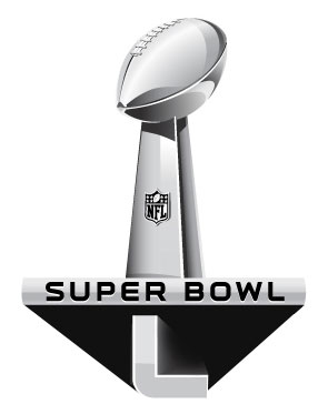 Super Bowl L Logo Mockup