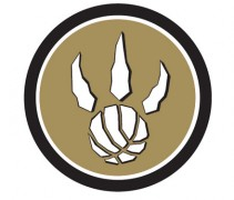 Toronto Raptors Black and Gold Logo