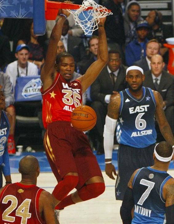 2012 NBA All-Star Game Uniforms
