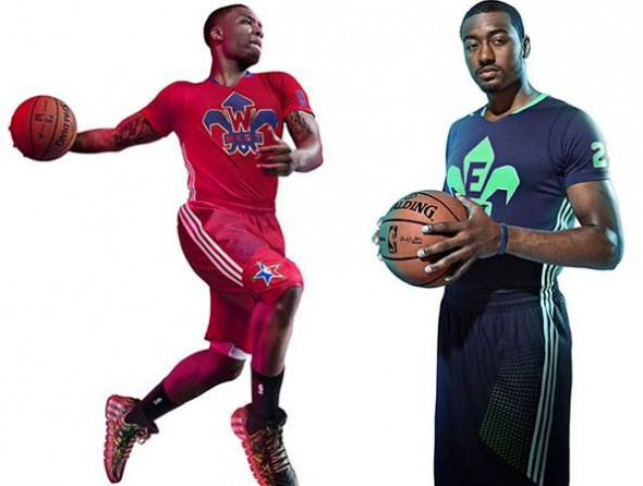 2014 NBA All-Star Game Uniforms