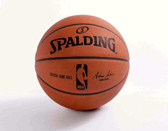Adam Silver Signed NBA Basketball