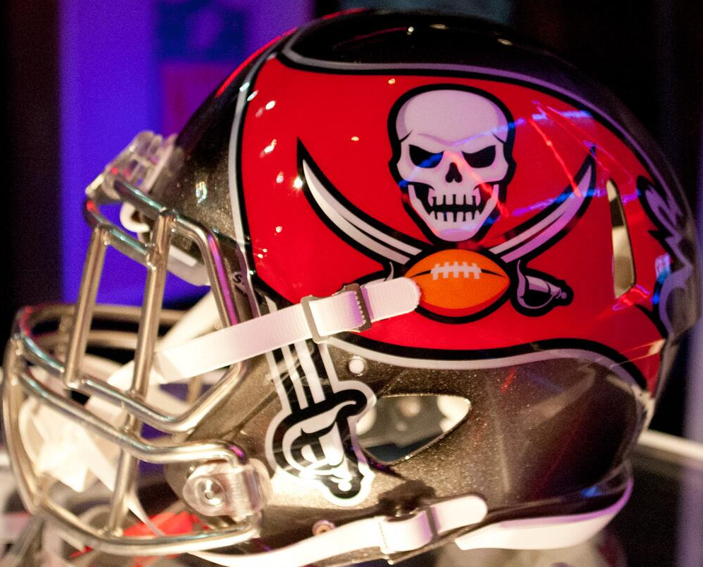 tampa bay buccaneers reveal enhanced logos and helmet sportslogos net news tampa bay buccaneers reveal enhanced
