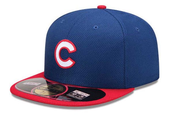 Chicago Cubs New BP Cap 2014