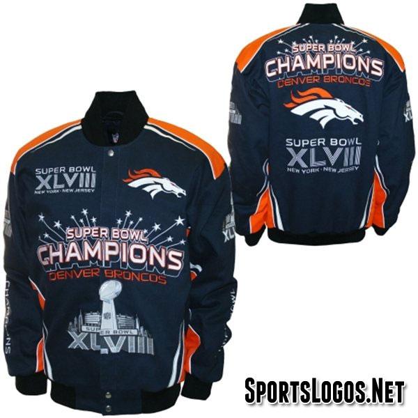 Denver Broncos Super Bowl XLVIII Champs Jacket