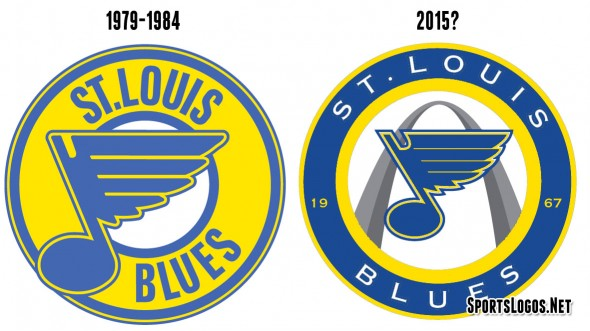 New Blues Logo Similar to 1980 Logo