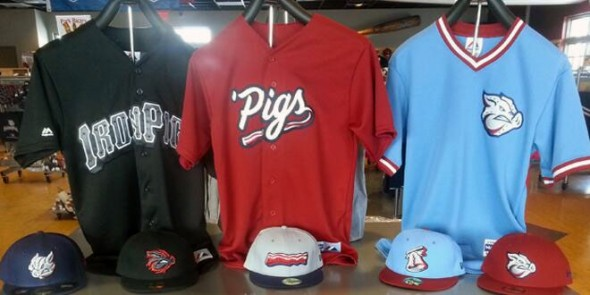 New IronPigs Uniforms 2014
