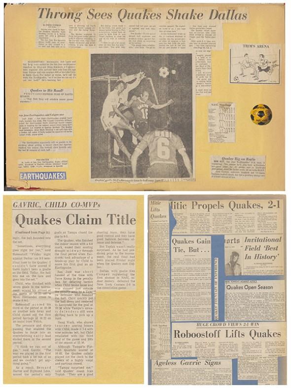 San Jose Earthquakes Scrapbook