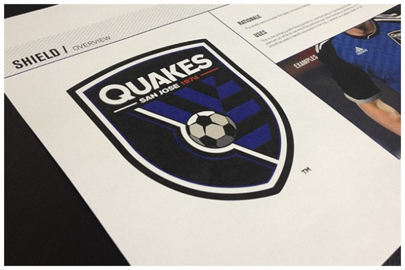 San Jose Earthquakes New Logos