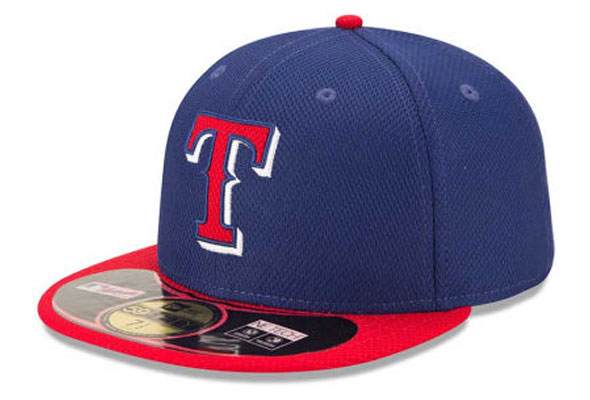 Texas Rangers New BP Cap 2014