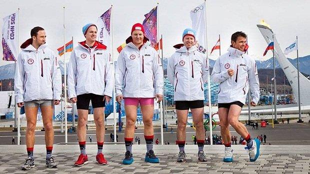Rainbows, hypocrisy, curling pants: Wardrobe medalists at the Winter Olympics