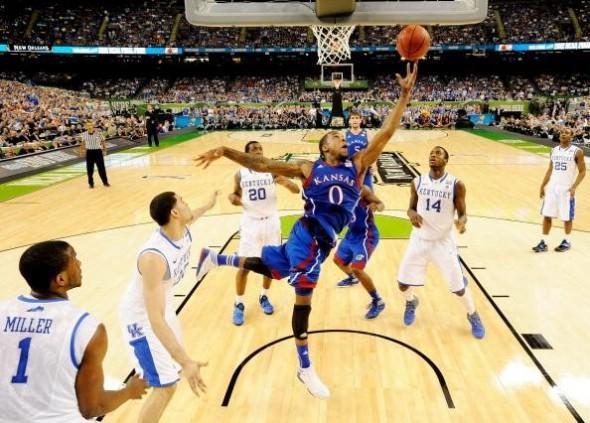 NCAA Men's Championship Game - Kansas v Kentucky   REMOTE