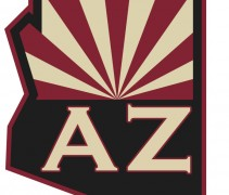 Arizona Coyotes Shoulder Logo