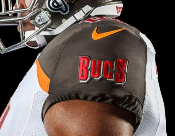 0c7819918 New TB Buccaneers Uniforms 2014 · Bucs Sleeve Patch 2
