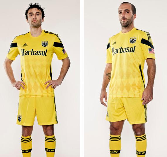 Columbus Crew Uniforms Columbus Crew New Uniform 2014