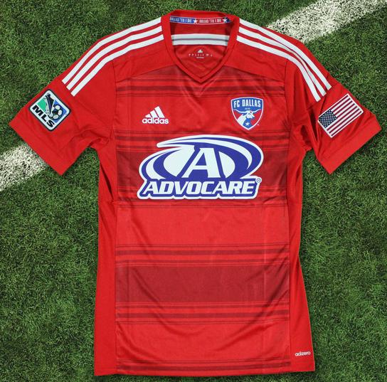 FC Dallas New Uniform 2014