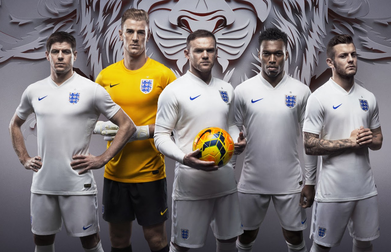 competitive price 06704 3cfdf England National Team Reveals World Cup Kits | Chris ...