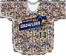 Kalamazoo Growlers Selfie Jersey 2014