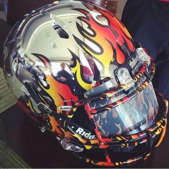 LA Kiss Helmet 2014