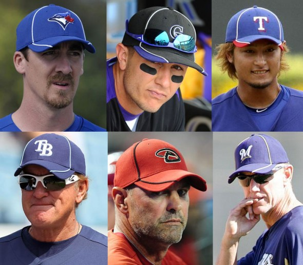 MLB BP Caps 2012
