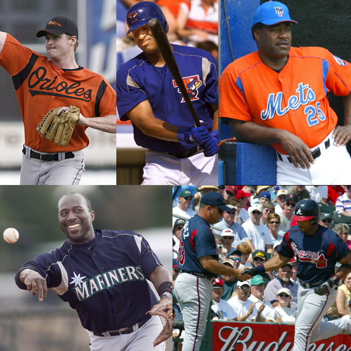 MLB Spring Training Jerseys 2003