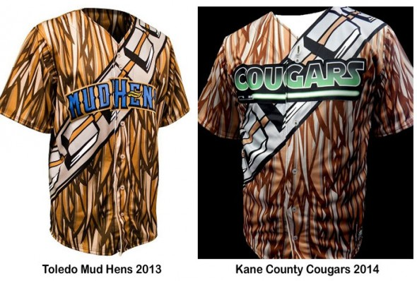 Mud Hens Cougars Star Wars