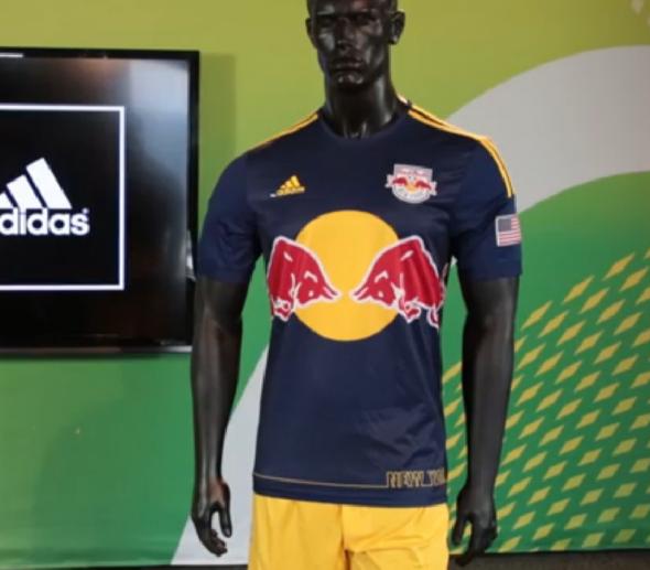 Red Bull New York New Uniform 2014
