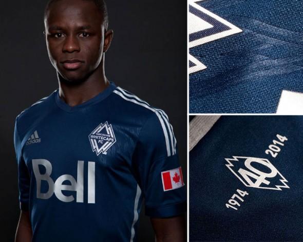 New Vancouver Whitecaps Uniform 2014