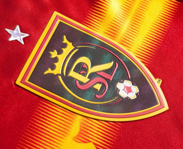Real Salt Lake Jersey Crest Detail