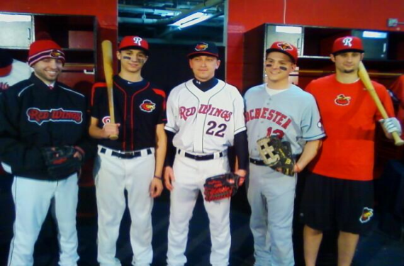 Rochester Red Wings Reveal New Uniforms For 2014 Season