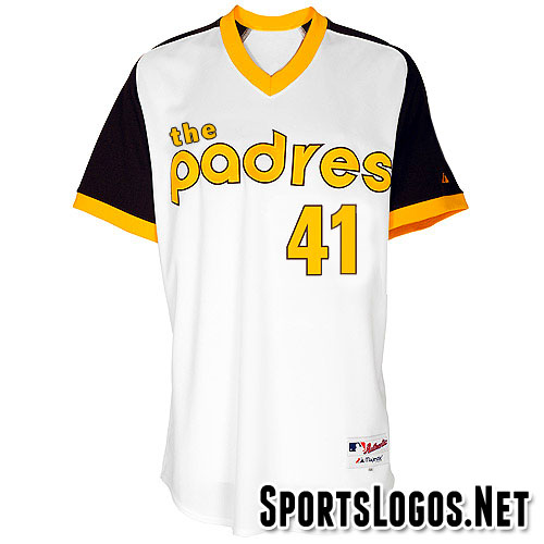 San Diego Padres English The Padres Jersey