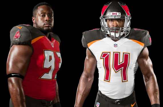 d91b4a8c312 Tampa Bay Buccaneers Unveil New Uniforms