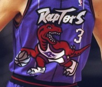 Toronto Raptors Road Uniform 1996