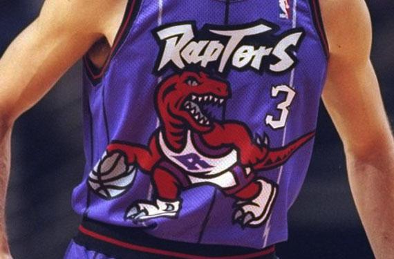 Toronto Raptors Road Uniform 1996