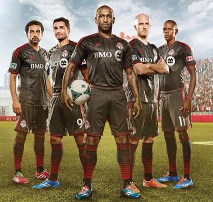 Toronto FC New Uniform 2014