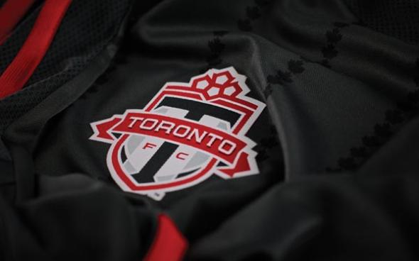 TFC Maple Leaf jersey sublimation detail