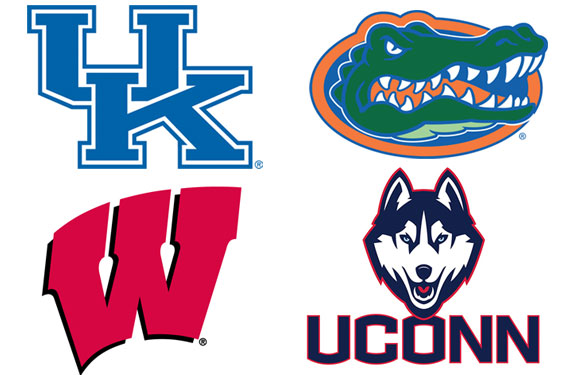 2014 NCAA Final Four Team Logos