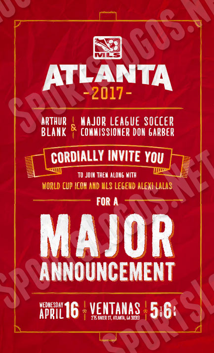 Atlanta MLS 2017 Invitation