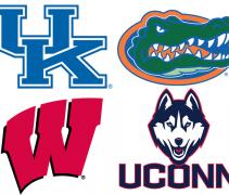 Final Four Team Logos
