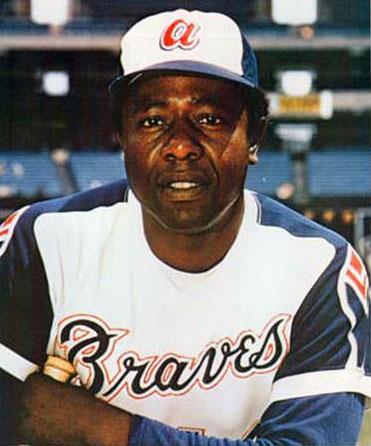 Hank Aaron 1974 Atlanta Braves Home Uniform