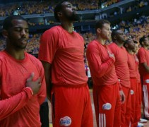 LA Clippers Inside Out Jersey Protest 2014