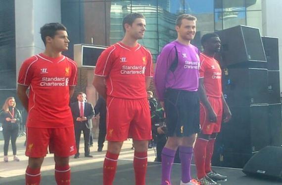 Liverpool Reveal New Primary Kit For Next Season