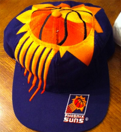 Phoenix Suns The Game All Over Big Logo Cap 1990s